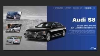Audi S8 thế hệ thứ hai: Thân hình Đức, trái tim Ý
