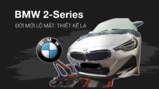 BMW 2-Series đời mới lộ mặt: Thiết kế lạ