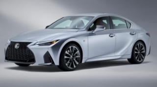 Đánh giá xe Lexus IS 2021: Thiết kế mới mẻ và cảm giác lái thể thao hơn