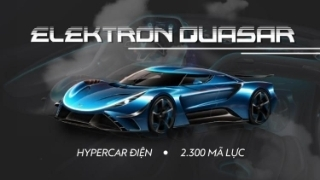Elektron Quasar: Hypercar điện 2.300 mã lực