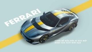 Ferrari công bố mẫu siêu xe đặc biệt được sản xuất giới hạn