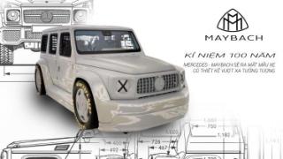 Kỷ niệm 100 năm, Mercedes-Maybach sẽ ra mắt mẫu xe có thiết kế vượt xa tưởng tượng