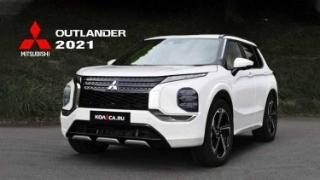 Mitsubishi Outlander 2021 lộ thiết kế rõ nét trước ngày ra mắt