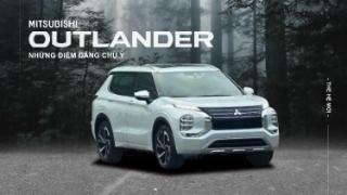 Những điểm đáng chú ý trên Mitsubishi Outlander mới