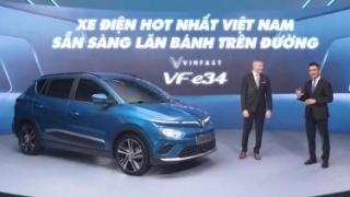 VinFast VF e34 - Xe điện hot nhất Việt Nam sẵn sàng lăn bánh trên đường phố