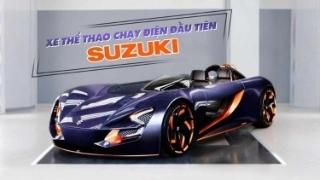Xe thể thao chạy điện đầu tiên của Suzuki