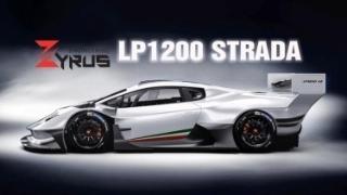 """Zyrus LP1200 Strada là chiếc Huracan đường phố """"điên rồ"""" nhất"""